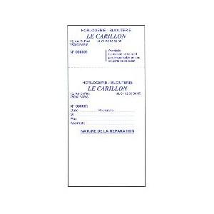POCHETTE REPA.PERSO 8x19NUMEROTEE + BANDE BLANC/BLEU