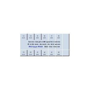 ANSE SIMPLE 180 ASST. x100
