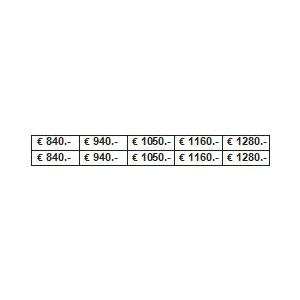 PLANCHE PRIX 840/2530 €