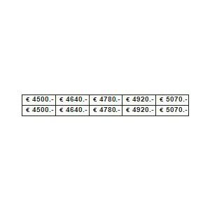 PLANCHE PRIX 2540/4490 €