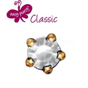 B.O.BOULE STRASS DORE/GRIFFES EASY PIERCY