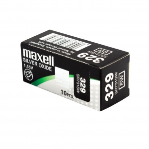 PILE MAXELL 329 x10