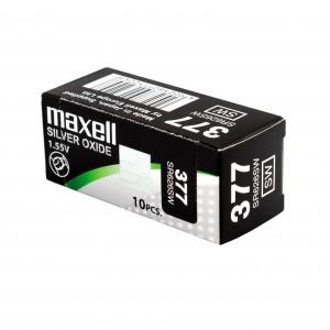PILE MAXELL 377 x10
