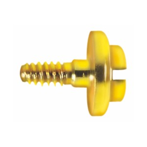 VIS pour BARRETTE ép. 1,30, diamètre 3mm doré