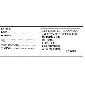 TICKET A SOUCHE BLANC x1000