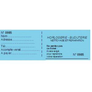 TICKET A SOUCHE BLEU x1000
