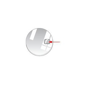 LOUPE MINERAL 7,5x6,3mm