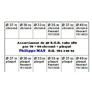 S.O.R. assortiment T 180