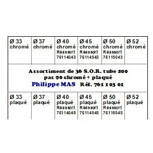 S.O.R. assortiment T 200