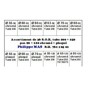S.O.R. assortiment T 250+250