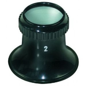 LOUPE PLAST. x4 n°2,5