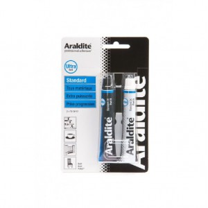 COLLE ARALDITE BLEUE 2 tubes