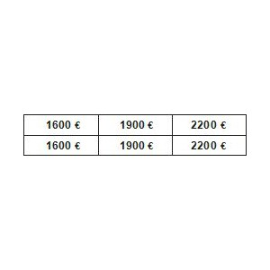 PLANCHE PRIX G.M. 1600/5000 €